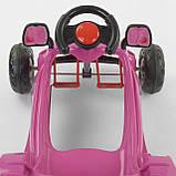 Детский педальный автомобиль HERBY 07-302 Фиолетовый, фото 2