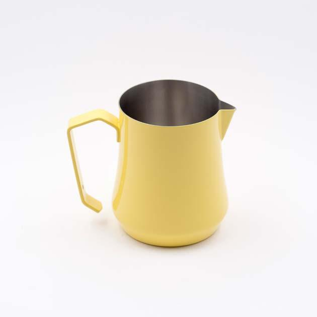 Питчер молочник Motta Tulip 500 мл желтый стальной