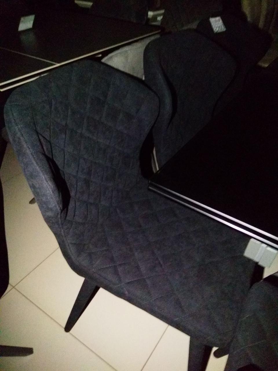 Стул VALENCIA  (Валенсия) черный от Niсolas, ткань
