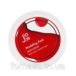 Альгинатная антивозрастная маска для лица J:ON Anti-Aging Modeling Pack 18 г