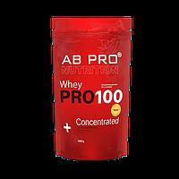 Протеин AB PRO PRO 100 Whey Concentrated 1000 г Клубника