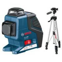 Нивелир лазерный линейный Bosch GLL 2-80 P + Штатив BS 150