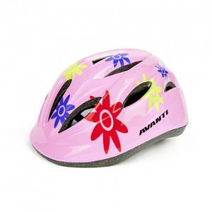 Шлем детский розовый