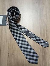 Краватка шовкова сірий в клітку s.Oliver Premium