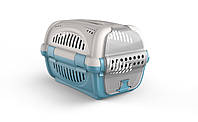 Переноска для домашних животных Rhino GeorPlast Серый-голубой 10569SG, КОД: 1618841