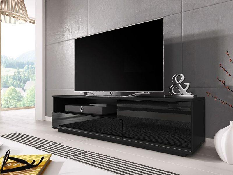 ТВ тумба MUZA 138 чорний (CAMA)