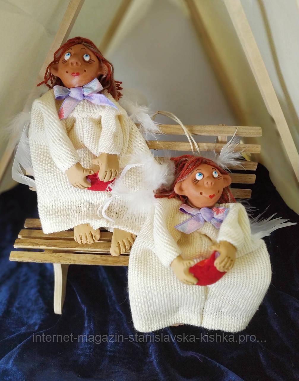 текстильна лялька Ангел