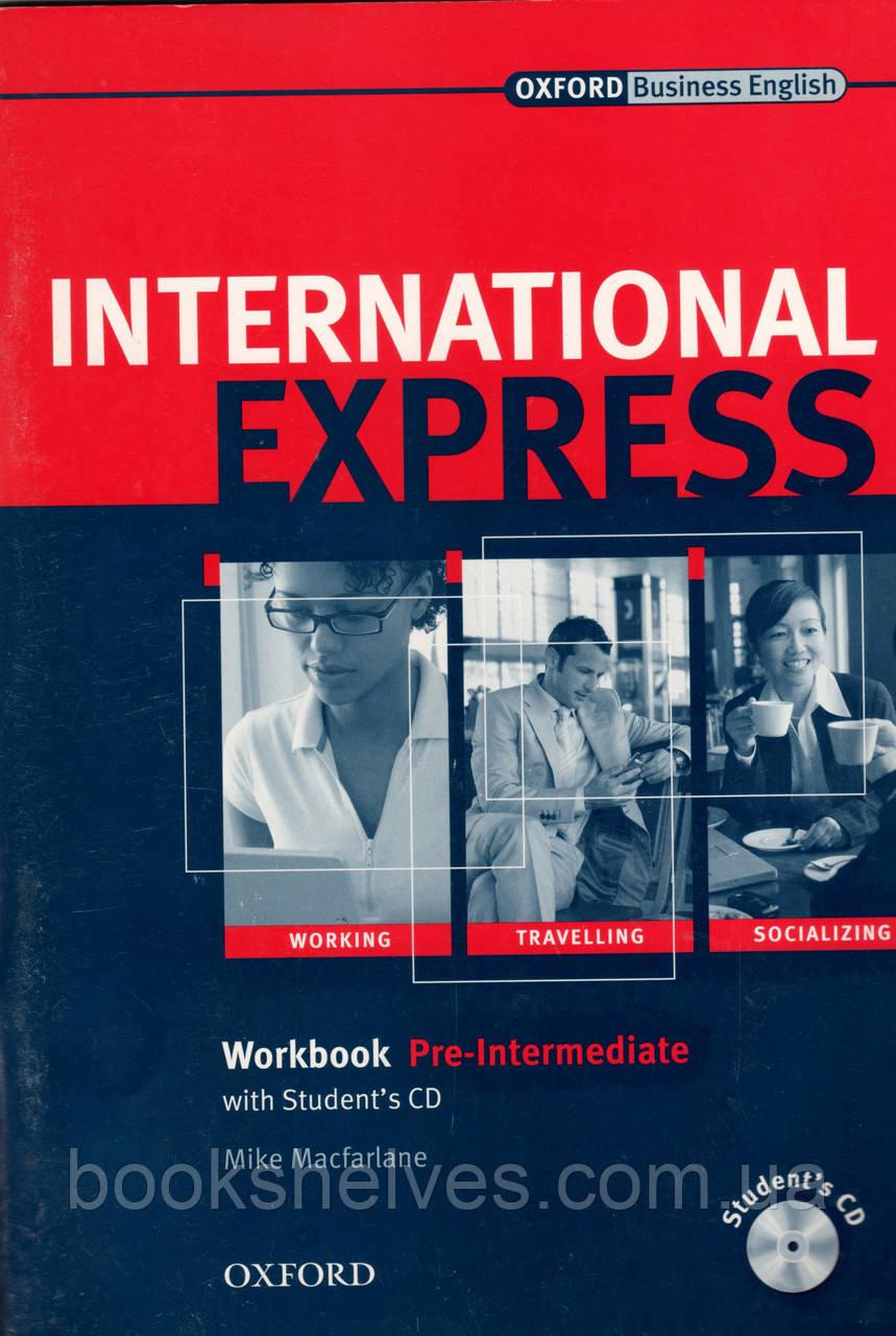 Рабочая тетрадь International Express pre-intermediate
