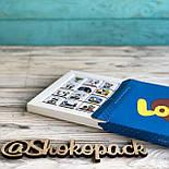 """Набор шоколадок """"Love is"""" 100 г (20 мини-плиток молочного шоколада)  - Подарок для для любимого человека, фото 4"""