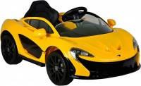 Дитячий електромобіль McLaren жовтий