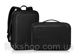 """Рюкзак проти крадіжки XD Design Bobby Bizz 15.6"""" 13л Black (P705.571), фото 2"""