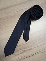 Галстук тёмно - синий  COS (Швеция), фото 1