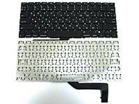 Клавиатура для APPLE A1398 Macbook Pro MC975, MC976(2012) (RU BLACK, Горизонт. Enter).