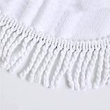 Кругле пляжний рушник Єдиноріг 150 см, фото 2