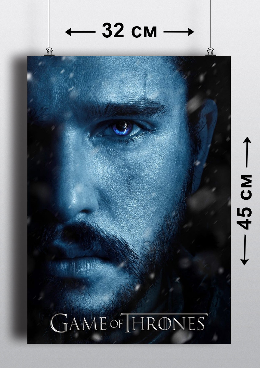 Плакат А3, Игра Престолов 7