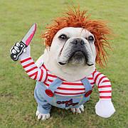 Костюм для домашних животных, костюм для собак Пират, размер S