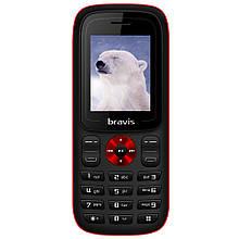 """Кнопочный телефон с камерой на 2 сим карты Bravis C180 Jingle 1,77"""" 32/32 МБ"""
