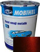 """192 Автоэмаль базовая """"металлик"""" Helios Mobihel """"Портвейн"""", 1л"""