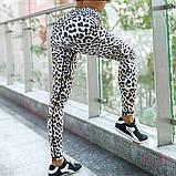 Леопардовые лосины для занятий фитнесом и йогой, фото 10