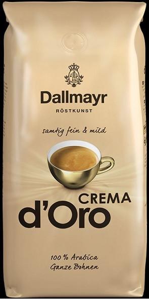 Кава в зернах Dallmayr Crema D'oro, 1кг