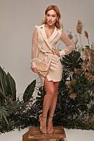 Платье Gepur 34820 Бежевый L