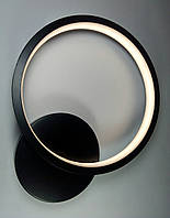 Бра LED на стену круглое (A170 BK 14W ProСВЕТ)