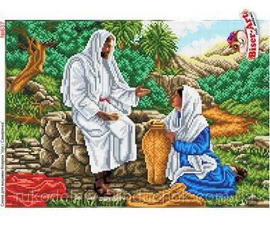 Схема для вишивки бісером (хрестиком) Бисер-Арт  «Ісус і Самарянка (637)»