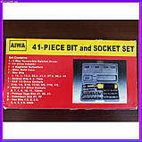 Набор инструментов Aiwa 41 предмет, фото 4