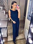 Женский комбинезон брючный летний с широкими брюками (в расцветках), фото 8