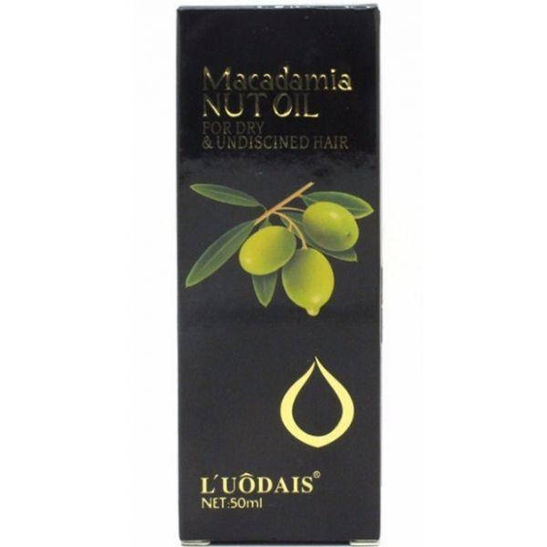 Масло для волос Luodais Macadamia Nut Oil for professional salon 50 мл, фото 2