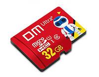 MicroSDHC 32GB class 10 карта памяти 32 гб 10 класс Ultra+ (microSD) DM USH-1