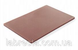 Доска разделочная Hendi 825556 HACCP 450x300x12,7 мм - коричневая