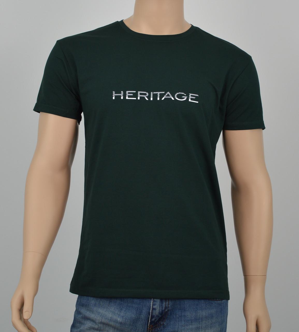 "Мужская футболка ""Heritage"" (Реплика) Синий"