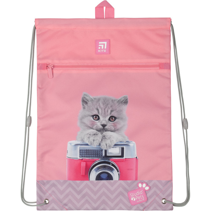 Сумка для обуви с карманом Kite Education Studio Pets SP20-601M-2, 44926