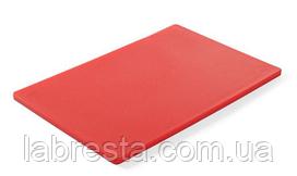 Доска разделочная Hendi 825525 HACCP 450x300x12,7 мм - красная