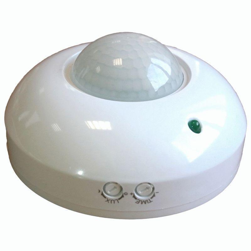 Инфракрасный датчик движения Feron LX20/SEN5 белый до 6м 360° 1200W IP44