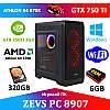 Недорогой Cовременный Игровой ПК ZEVS PC 8907 (Kratos) Athlon X4 840 +GTX 750TI