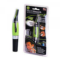 Триммер с насадками, Micro Touch Max, (46798), бритва для носа