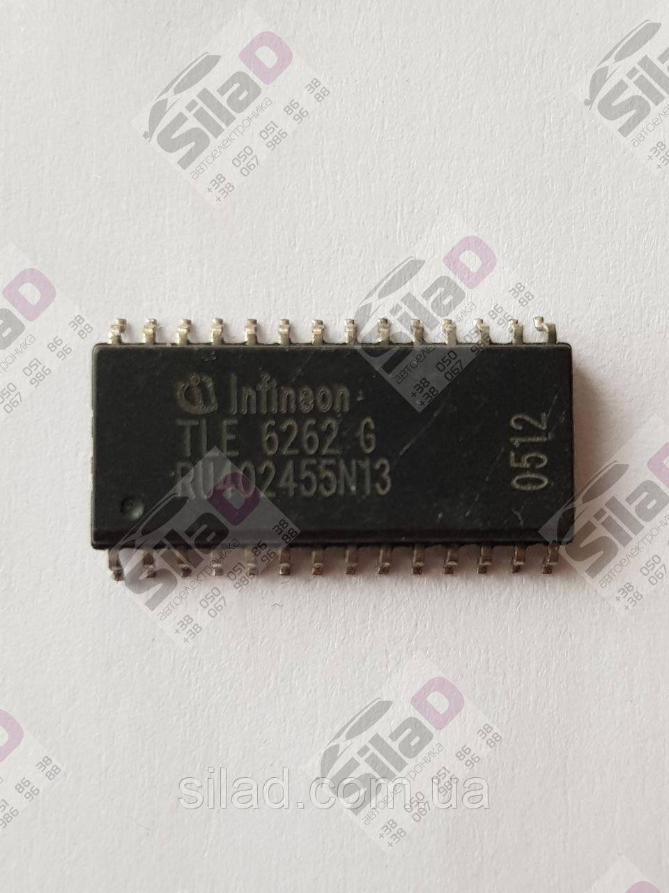 Микросхема TLE6262G Infineon корпус P-DSO-28-6
