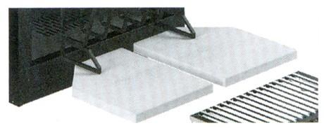 Дополнительные шамотные плиты для МА282