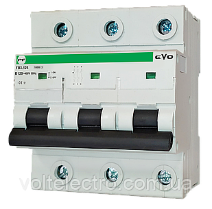 Автоматический выключатель ПРОМФАКТОР АВ2000 EVO 3Р D 100A 6кА