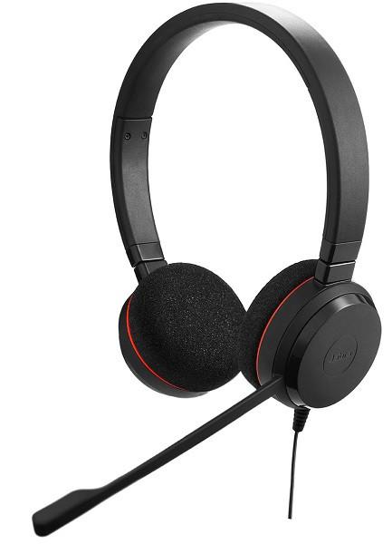 Проводная аудио гарнитура Jabra EVOLVE 20 UC Stereo (USB)
