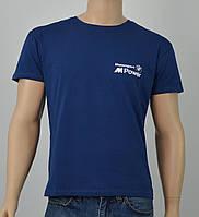 "Мужская футболка ""BMW2"" джинс"