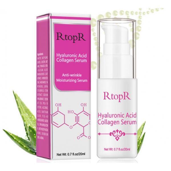 Антивозрастная увлажняющая сыворотка для лица RtopR hyaluronic acid collagen serum с гиалуроновой кислотой 20 мл
