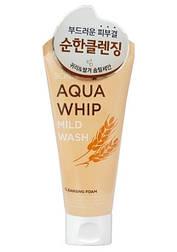 Мягкая очищающая пенка для чувствительной и проблемной кожи Scinic Aqua Whip Mild Wash, 120 мл