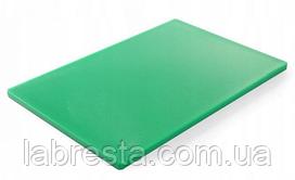 Доска разделочная Hendi 825631 HACCP 600x400 мм - зелёная