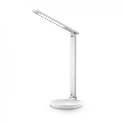 Настольная лампа Feron DE1728 9W 2700К-4000К-6500К 400lm Белая