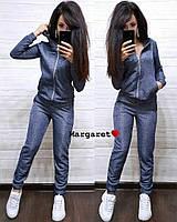 Женский спортивный костюм с капюшоном в расцветках БЛ-1-0520