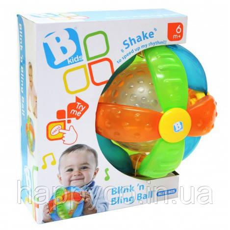 """Sensory B kids Интерактивная игрушка """"Светящийся мячик"""""""