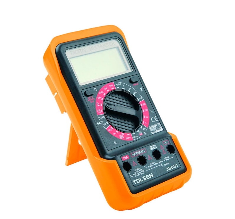Мультиметр цифровой Профи, Tolsen (38031)